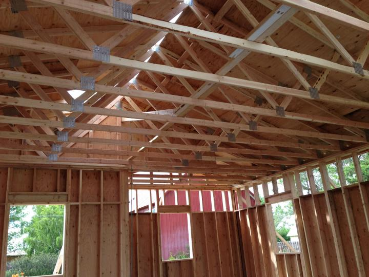 trusses and rough framing