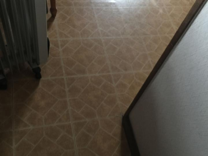 old flooring before replacement