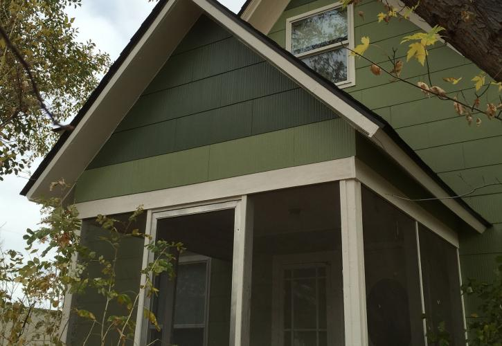 New exterior paint
