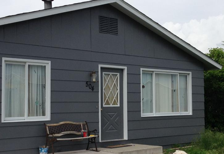 New exterior paint for home in Three Forks
